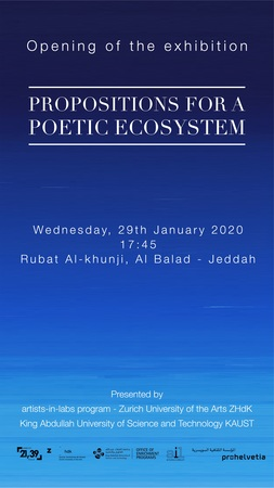 Propositions For A Poetic Ecosystem Opening